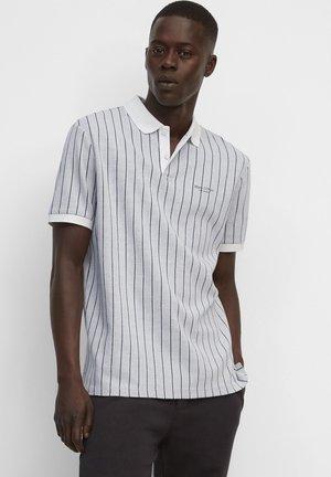 JACQUARD - Polo shirt - grey