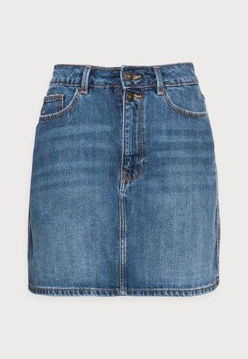 FALDA - Minifalda - medium blue