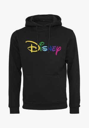 DISNEY RAINBOW LOGO - Sweat à capuche - black