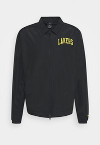 NBA LA LAKERS ESSENTIAL LIGHTWEIGHT JACKET - Klubové oblečení - black/amarillo