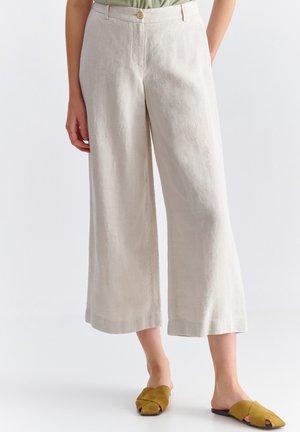 NEWA - Trousers - beige melange