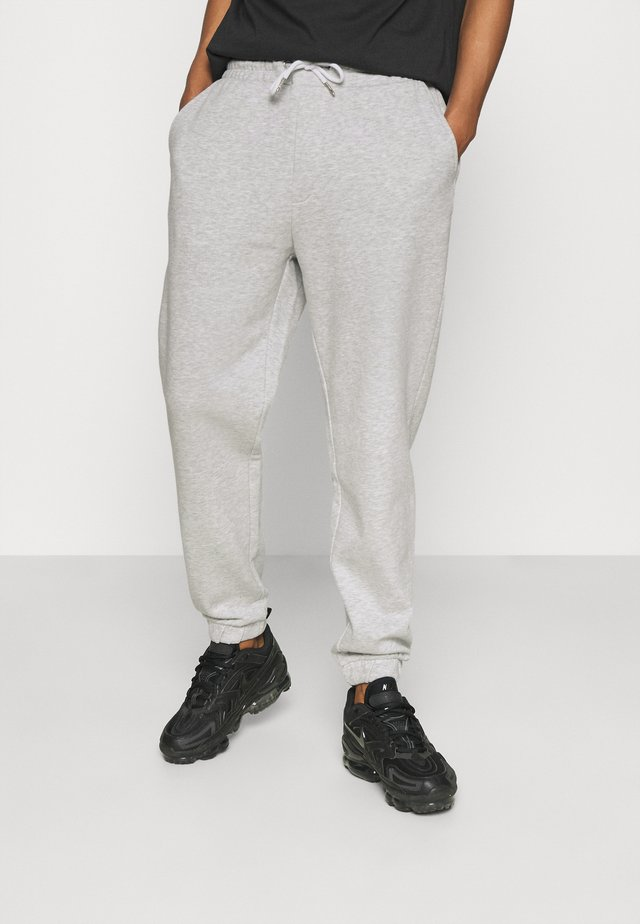 UNISEX - Teplákové kalhoty - mottled light grey