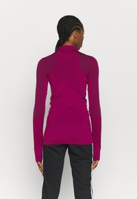 adidas Performance - Long sleeved top - power berry/purple - 2