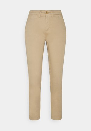 GABBY SLIM LEG PANT - Trousers - birch tan