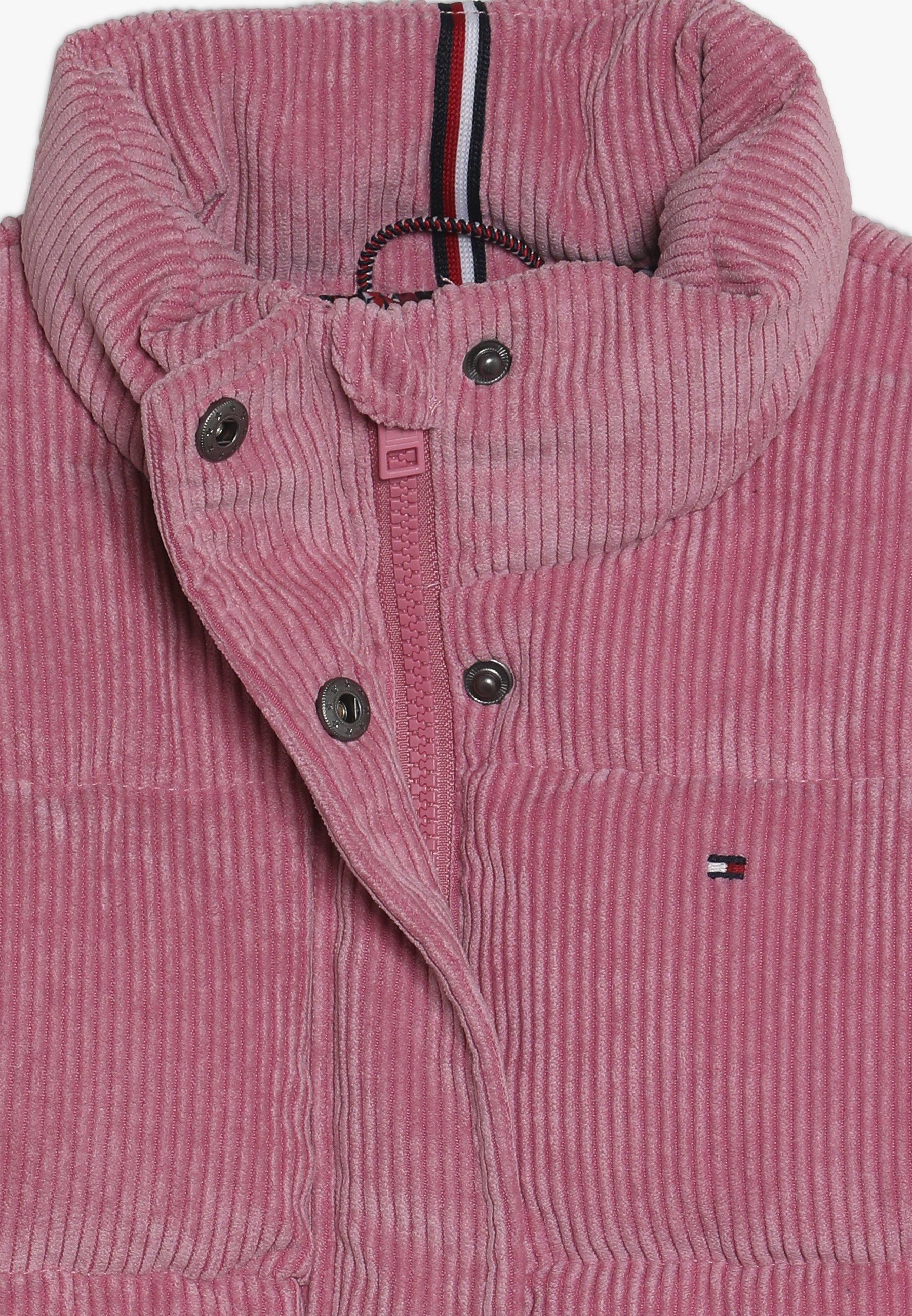 Tommy Hilfiger Girls Corduroy Boxy Puffer Jacket