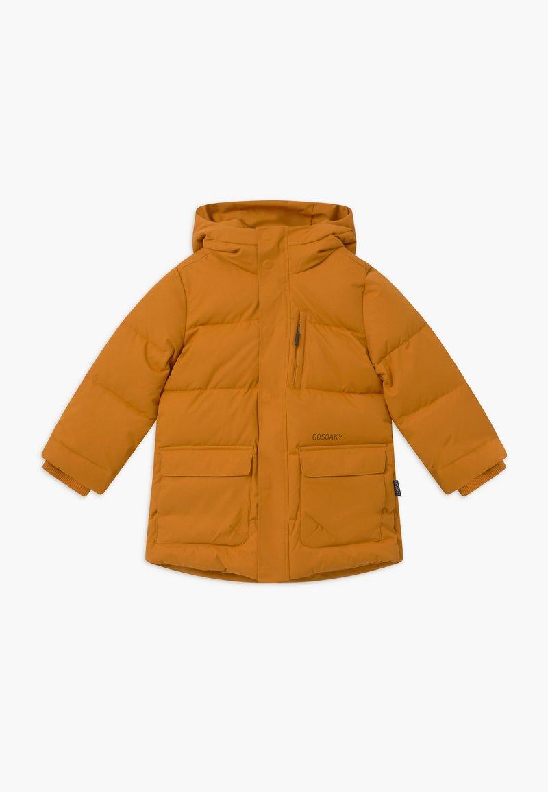 Gosoaky - TIGER EYE - Zimní kabát - inca gold