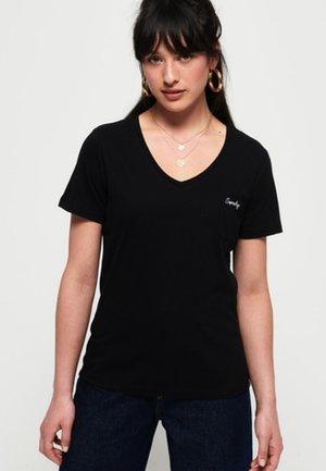 ESSENTIAL TEE - T-shirts - black