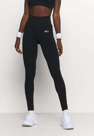 SEAMLESS LEGGINGS GLOW - Leggings - schwarz