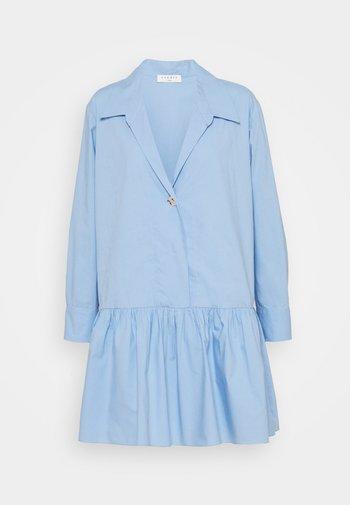 Shirt dress - bleu