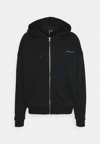 RELEXED FIT ZIP THRU HOOD
