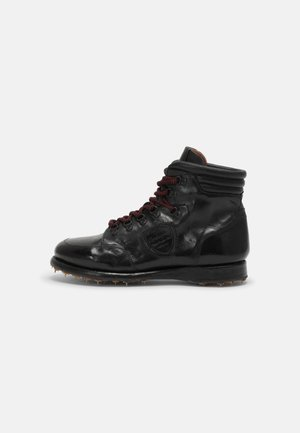 TOPO  - Lace-up ankle boots - todi washed black