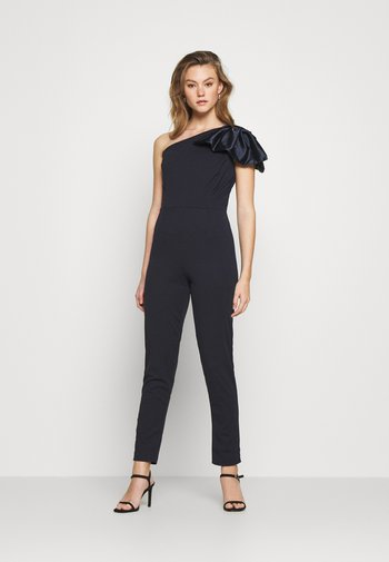 REESE ONE SHOULDER - Overall / Jumpsuit - navy blue
