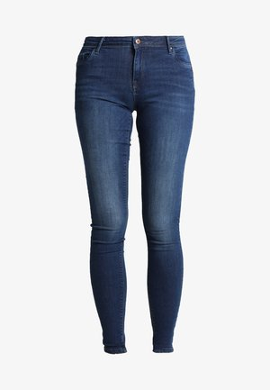 ONLALLAN  PUSHUP - Jeans Skinny Fit - dark blue denim
