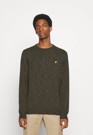 Pullover - trek green/jet black