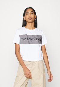 The North Face - T-shirts med print - white - 0
