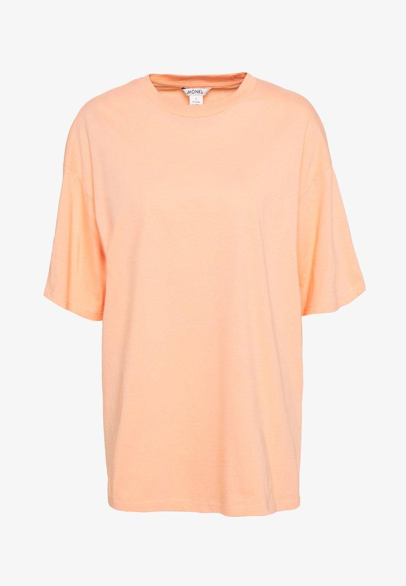 Monki - CISSI TEE  - T-shirts - orange light solid