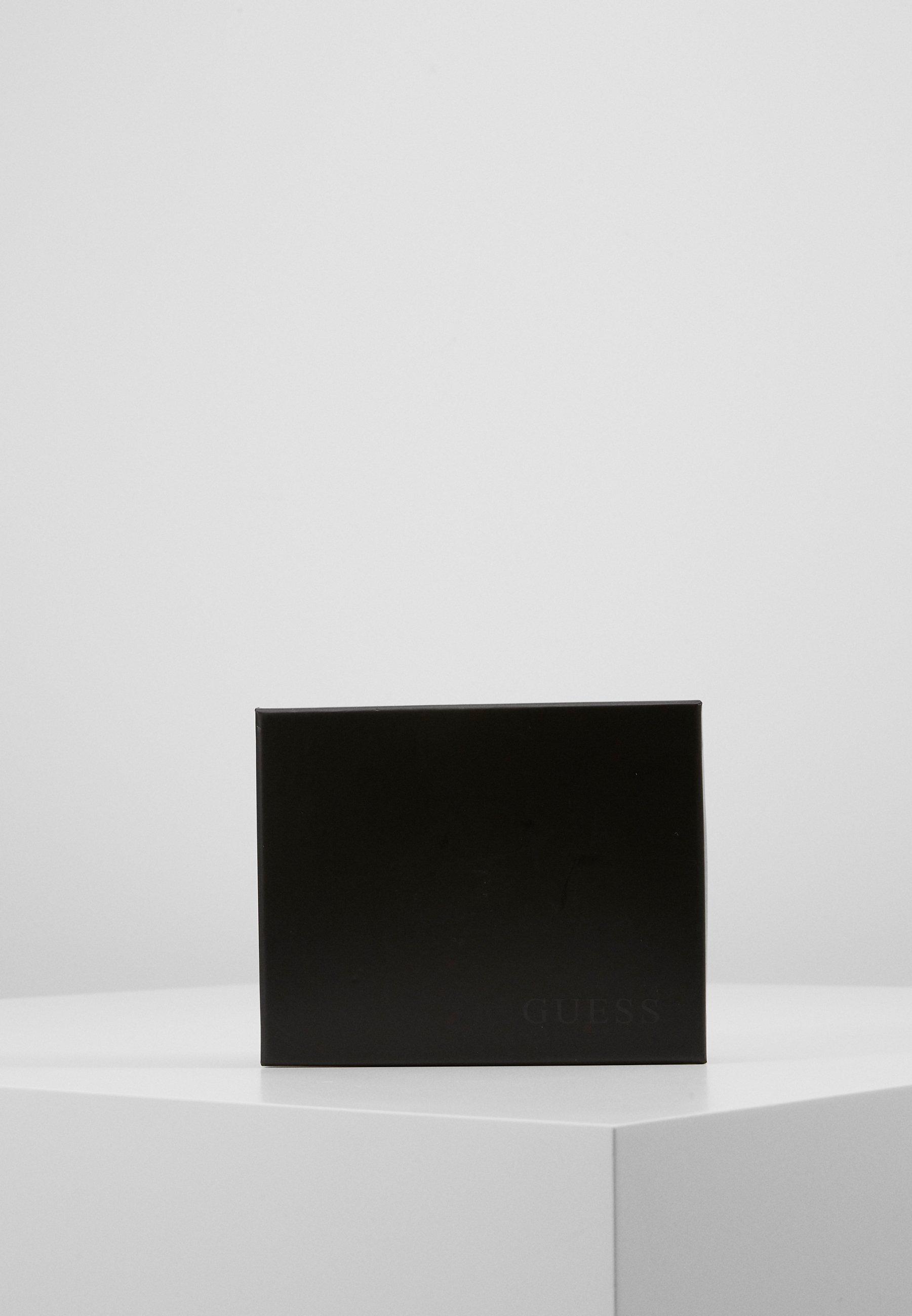 Guess DAN LOGO BILLFOLD POCKET - Lommebok - black/svart gWuTqGAGIMwh0q9
