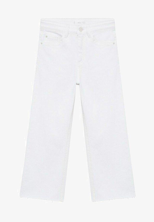 CULOTTEC - Jeans a sigaretta - white