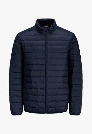JJEERIC PUFFER COLLAR - Light jacket - navy