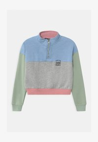 New Look 915 Generation - PASTEL BLOCKING ZIP  - Mikina - multi-coloured - 0