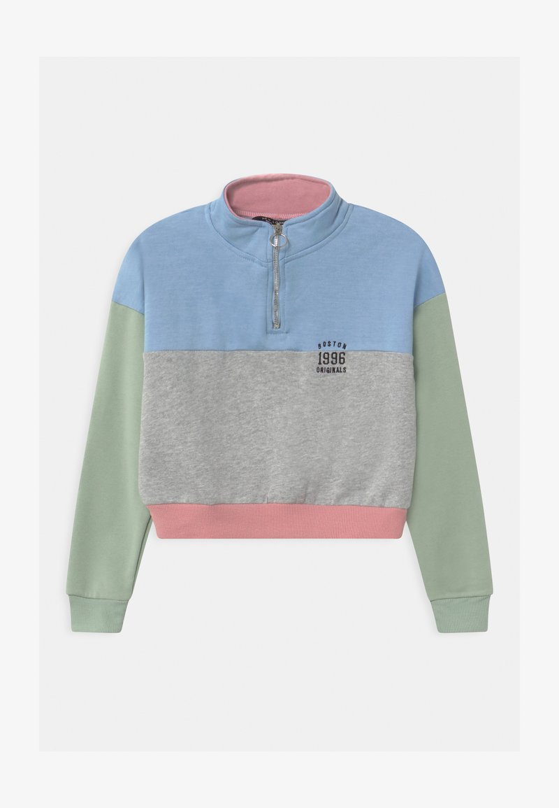 New Look 915 Generation - PASTEL BLOCKING ZIP  - Mikina - multi-coloured