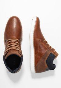 Pier One - Sneakers hoog - cognac - 1