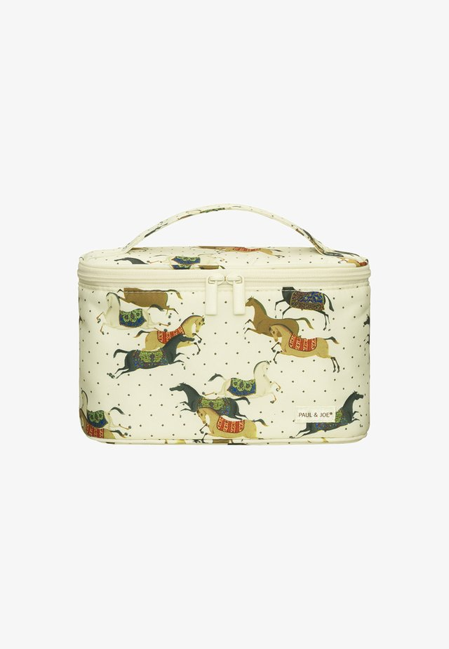 COSMETIC POUCH - Wash bag - horse print