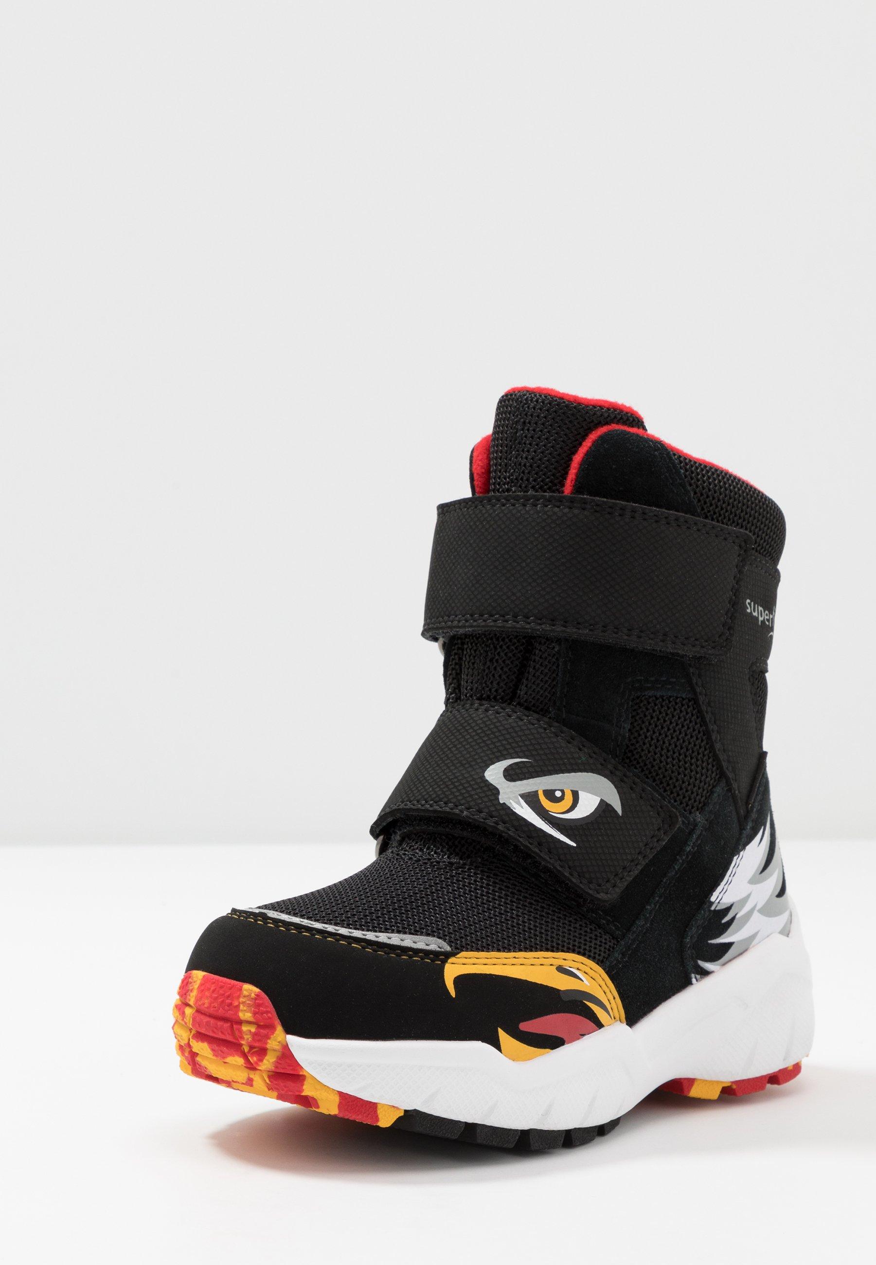 2013 Cheapest Superfit CULUSUK 2.0 - Winter boots - schwarz/rot | kids shoes 2020 zRs4Q