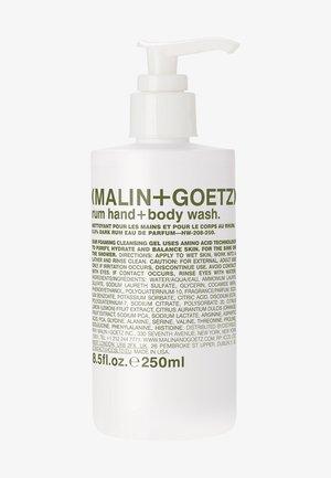 DUSCHGEL & SEIFE RUM HAND + BODY WASH - Shower gel - -