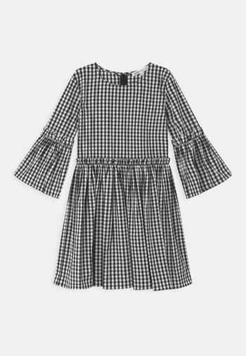 ABITO VICHY - Denní šaty - black