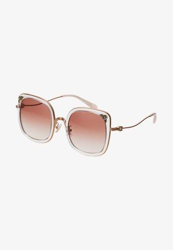Solbriller - shiny rose gold-coloured/pink
