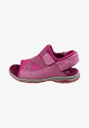 MIT KLETTVERSCHLUSS - Walking sandals - pink