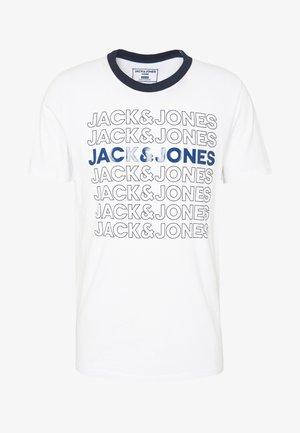 JCOPINE TEE CREW NECK - Print T-shirt - white