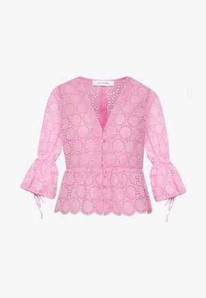 BROIDERY ANGLAISE  - Blouse - blush