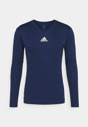 TEAM BASE TEE - Long sleeved top - dark blue