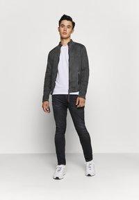 Tigha - TOMAS - Denim jacket - vinatge black - 1
