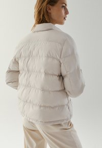 Massimo Dutti - Down jacket - beige - 1