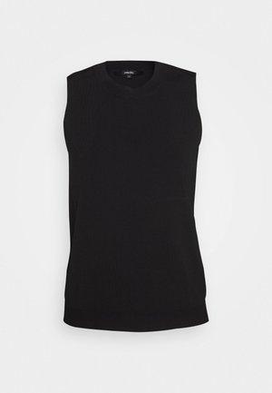 TEDA - Stickad tröja - black