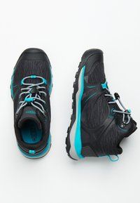 Keen - TERRADORA II MID WP - Hiking shoes - magnet/bluebird - 1