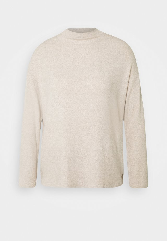 BOXY - Jersey de punto - cozy beige melange