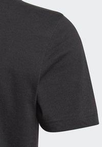 adidas Performance - UNISEX - Printtipaita - black/white - 3