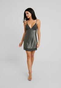 LingaDore - DULL DRESS - Nightie - dusty olive - 1