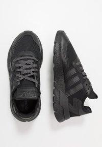 adidas Originals - NITE JOGGER - Matalavartiset tennarit - core black - 1