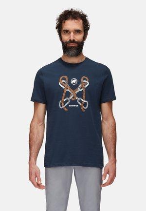 SLOPER - T-shirt z nadrukiem - marine prt