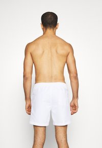 Calvin Klein Swimwear - MEDIUM DRAWSTRING - Surfshorts - white - 1