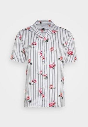 FLORAL SHIRT - Shirt - white