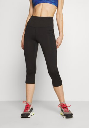 PACK OUT CROPS - 3/4 sports trousers - black