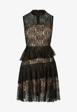 COCKTAILKLEID - Vestito elegante - schwarz