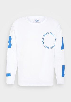 BALL LS - Pitkähihainen paita - optical white