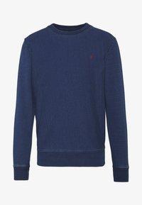 CREW NECK - Sweatshirt - dark blue denim